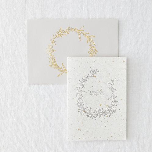 Love Abundantly Greeting Card