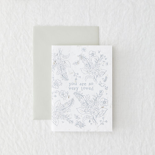 So Loved - Seeded Card