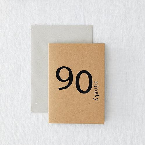 Age - 90