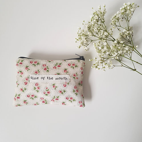 Time Of The Month - Ditsy Floral Feminine Product Storage