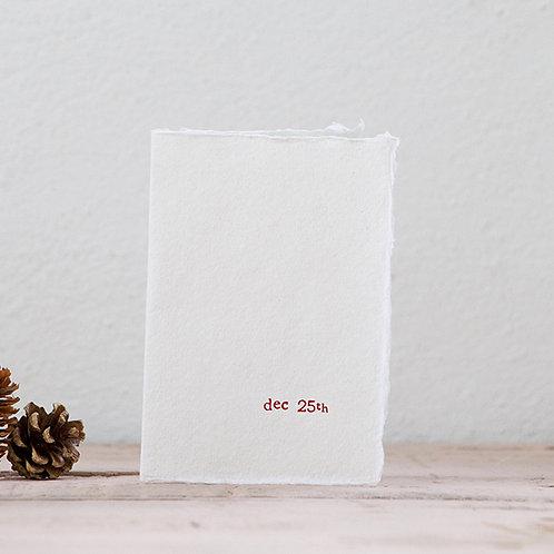 Dec 25th - Mini