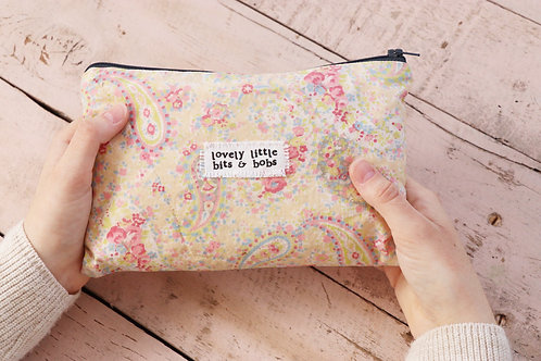 Lovely Little Bits & Bobs - Large Pouch