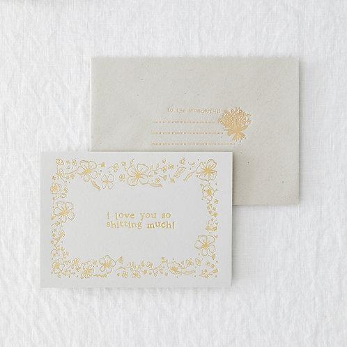 Shitting Much Greeting Card