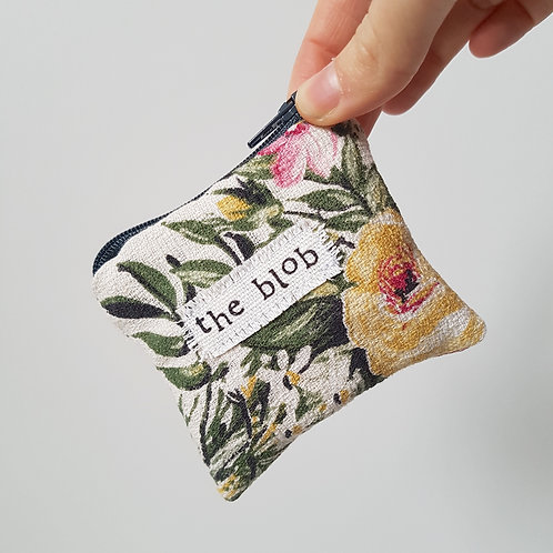 The Blob - Little Floral  Feminine Product Storage