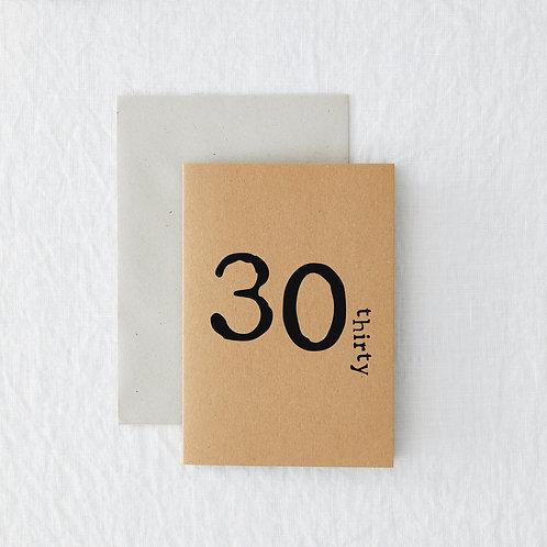 Age - 30