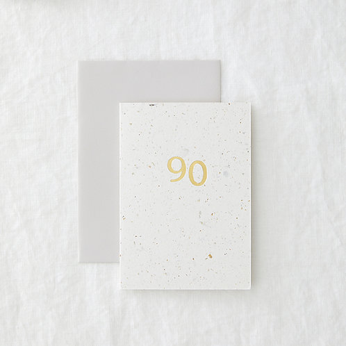 Hop 90 Greeting Card