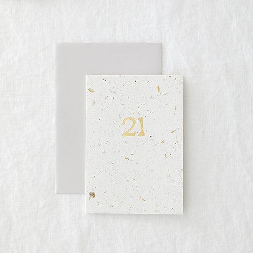 Hop 21 Card
