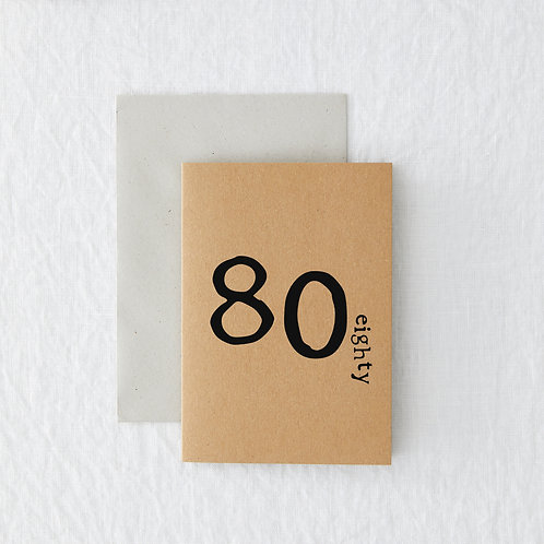 Age - 80