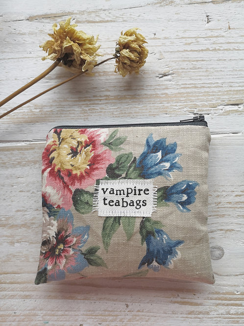 Vampire Teabags- Red Floral