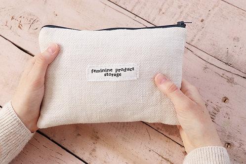 Feminine Product Storage- Large Pouch
