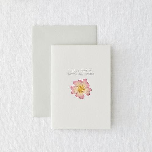 Blooming Love Greeting Card