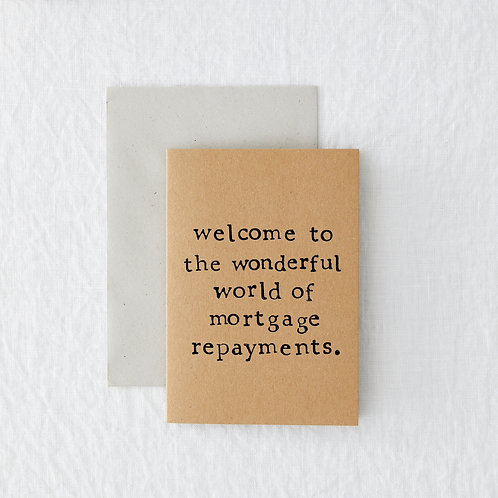 New Home - Mortgage