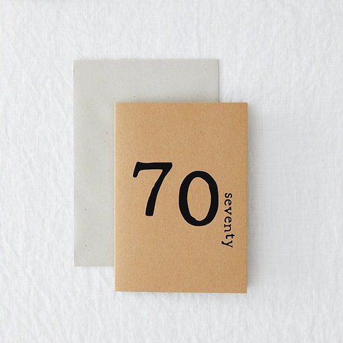 Age - 70