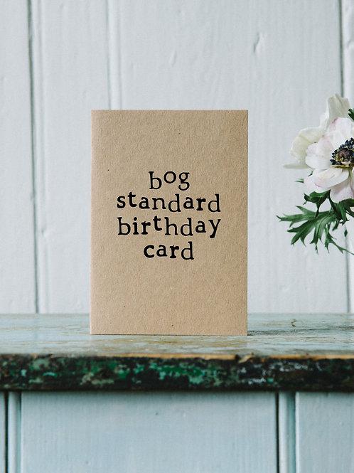 Birthday - Bog Birthday