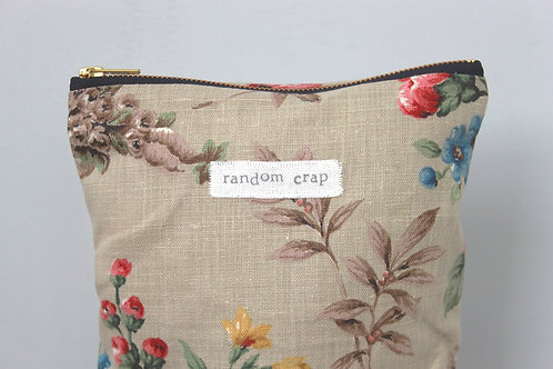 Random Crap - Large Makeup Bag