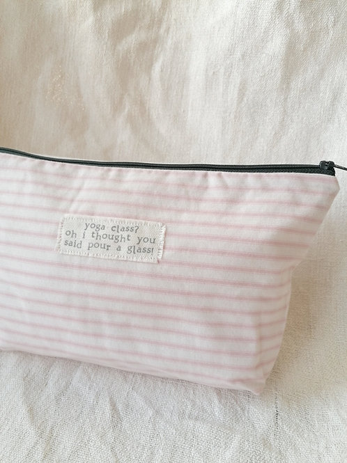 Yoga Class - Extra Large Pouch