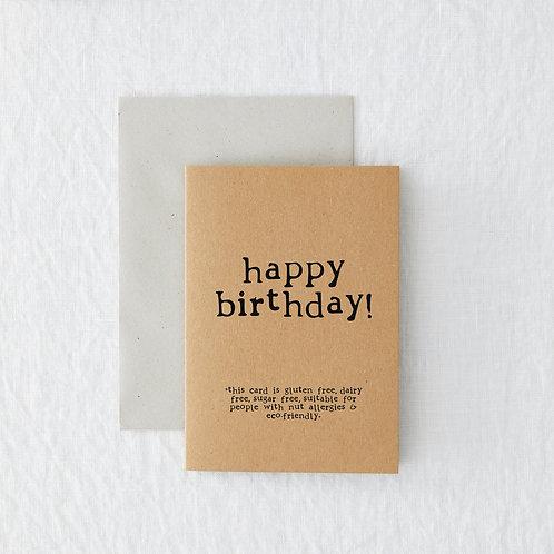 Birthday - Birthday Allergies
