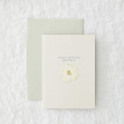 Birthday Beautiful - Greeting Card