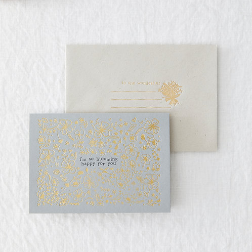 Blooming Happy Greeting Card