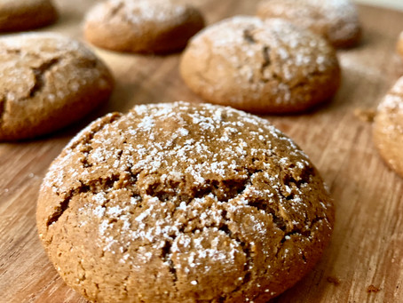 GINGER SPICE COOKIES {PALEO}
