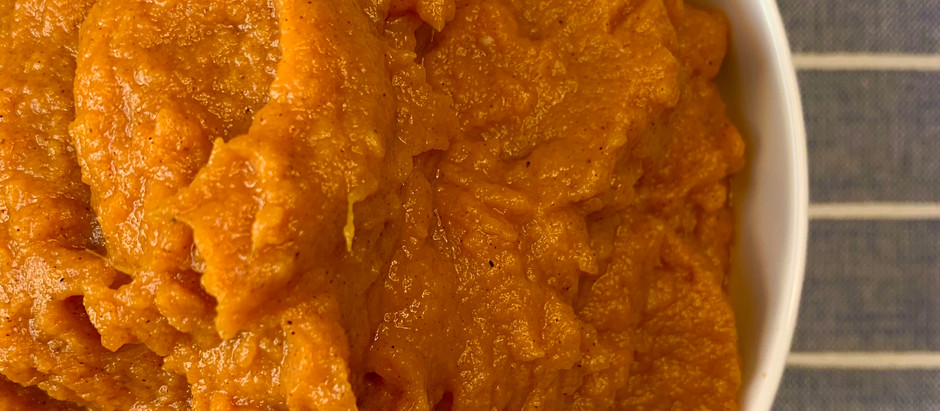 MASHED SWEET POTATOES {Dairy Free}