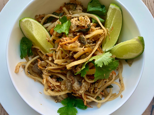 PAD THAI {GLUTEN AND SOY FREE}