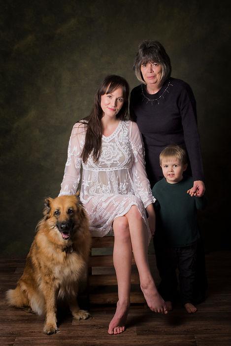 Pet family portrait