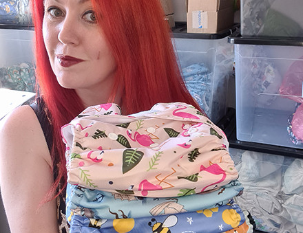 Reusable nappy business born during lockdown