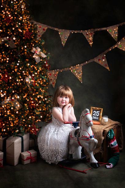 Christmas child photo