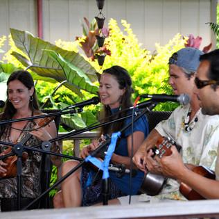 Kilauea Kauai local musicans