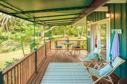 Hale Kokio Lanai for outdoor living