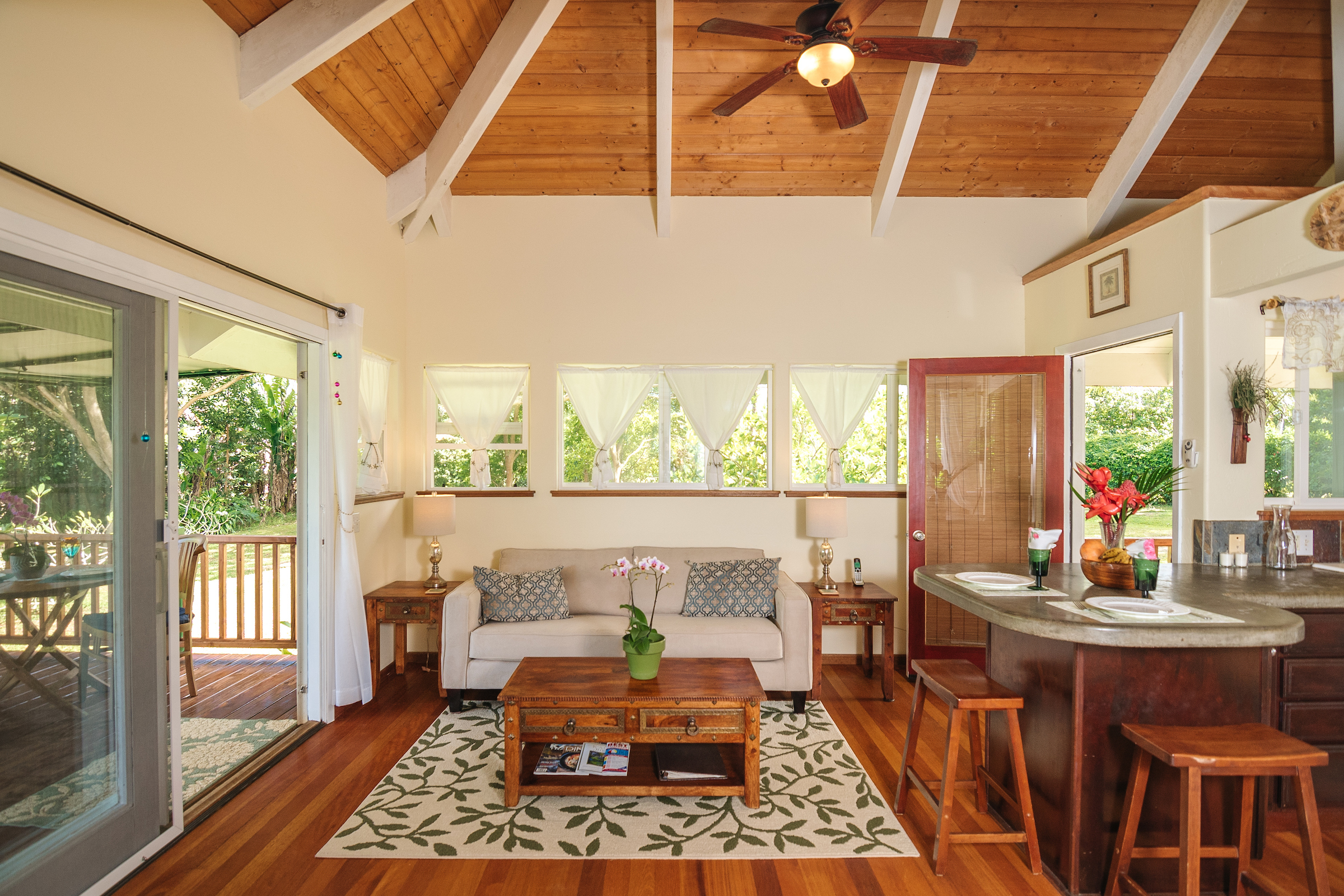 Kauai Cottage Living Room