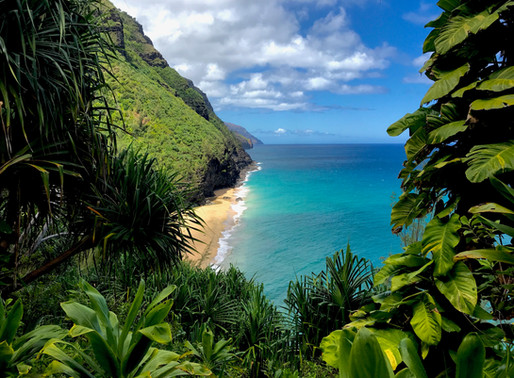 Ke'e Beach and Kalalau Trail: Welcome to the Napali Coast