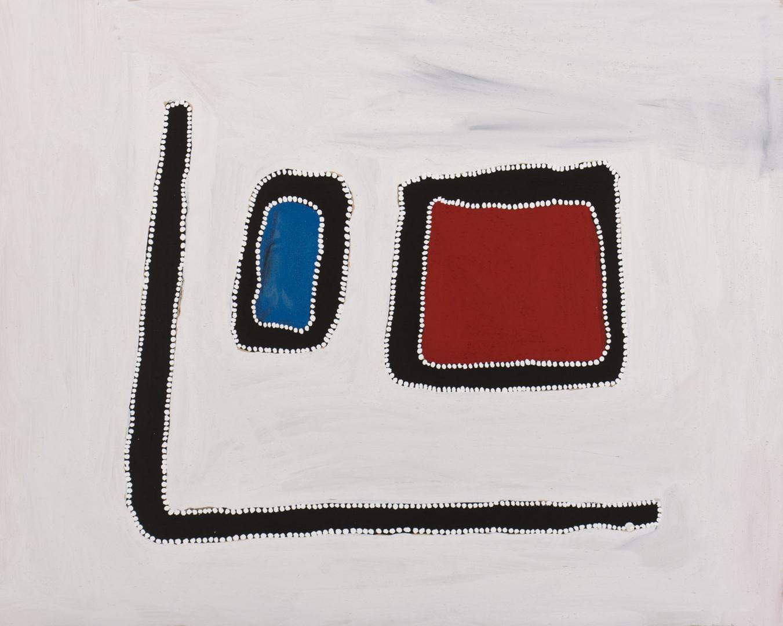 RR-2008-04-182-CB 2008 Pigments & binder on board 80x100cm