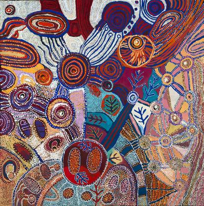 Collaborative: Ngupulya Pumani, Betty Pumani, Tuppy Goodwin and Puna Yanima