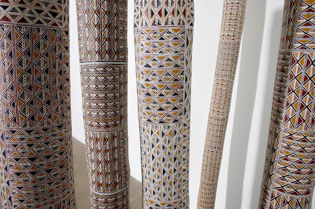 Ceremonial poles