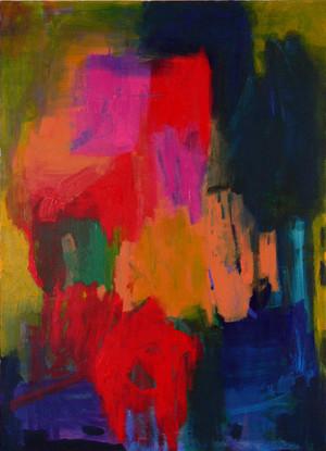 RACH58 2007 acrylic on canvas  1380x990mm