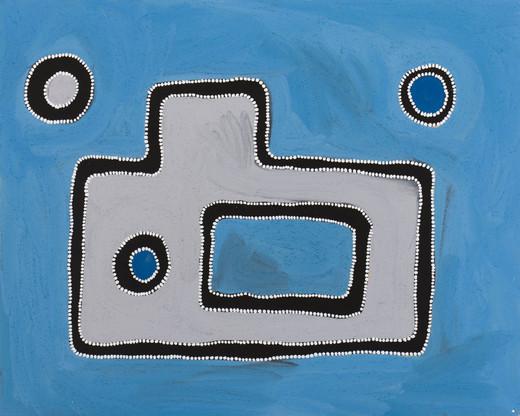 RR-2008-04-175-CB 2008 Pigments & binder on board 80x100cm