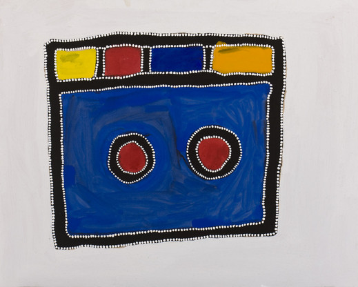 RR-2008-04-179-CB 2008 Pigments & binder on board 80x100cm