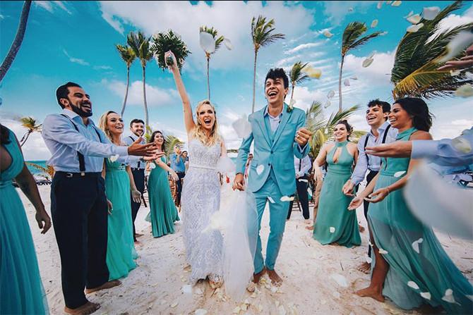 """Tata e Cocielo disseram """"sim"""" em um lindo destination wedding"""