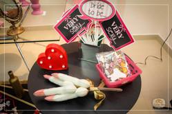 Chá de lingerie romantico