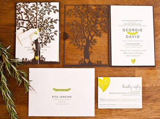 Convite designer moderno