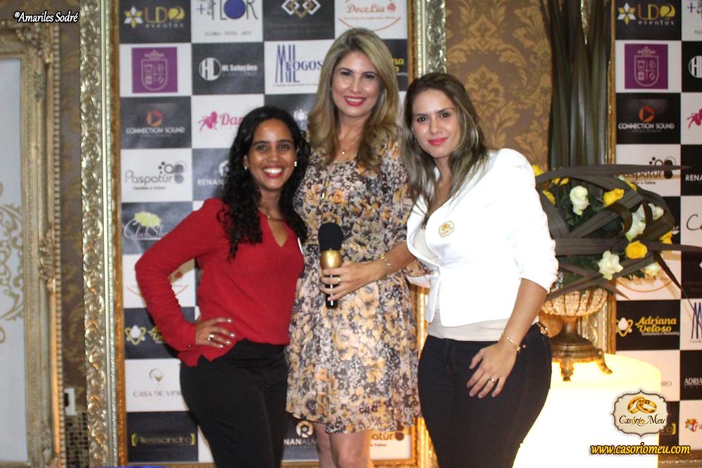 Amariles Sodré, Adriana Veloso e Thayane Paulino