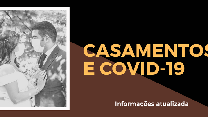 Casamentos e coronavírus: informações sobre os eventos no Brasil