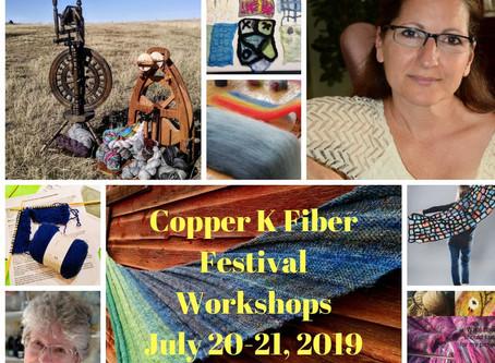 2019 Copper K Fiber Festival