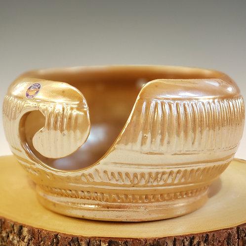 Wood Ash Yarn Bowl-Small