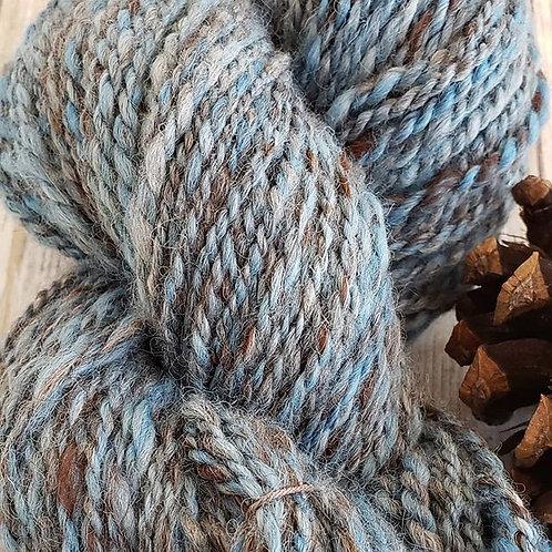 100% Handspun Alpaca Yarn-140 yds