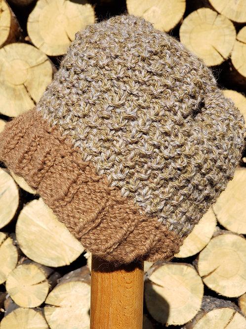 Masculine Alpaca Knitted Hat