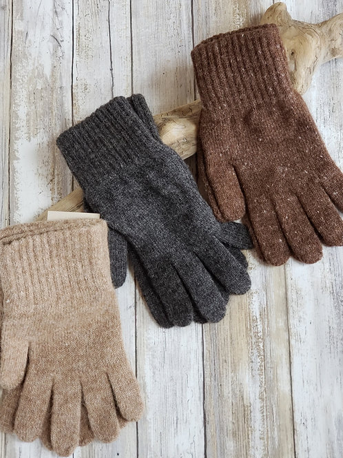 Mid Weight Knitted Gloves-Unisex