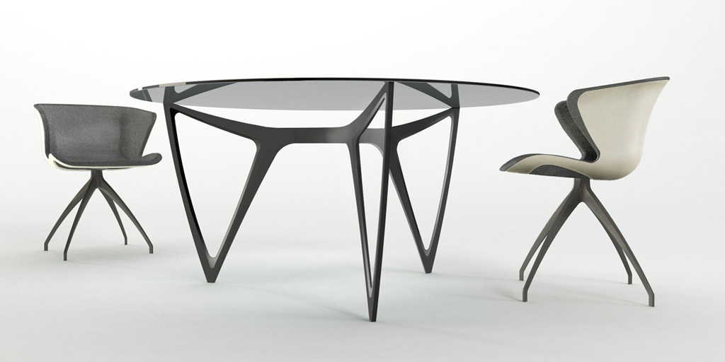Table - Mercedes Benz Style